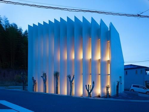 20161104161457 thiet ke nha 4 Bắt cước người Nhật thiết kế mặt tiền để ngôi nhà vừa thoáng lại vừa đẹp