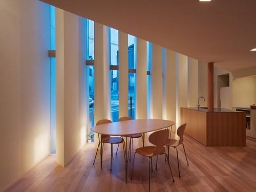 thiết kế nhà, thiết kế nhà nan quạt, thiết kế nhà theo kiểu Nhật