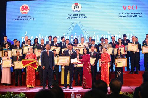 PVFCCo được vinh danh 'Doanh nghiệp vì người lao động'
