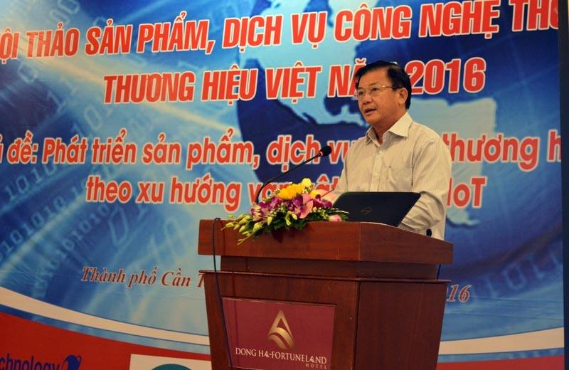 Thúc đẩy sản phẩm, dịch vụ CNTT thương hiệu Việt