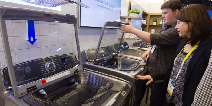Samsung thu hồi gần 3 triệu máy giặt vì nguy cơ nổ tung