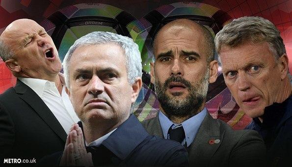 Mourinho cùng Pep và David Moyes 'tranh' HLV tồi nhất tháng 10