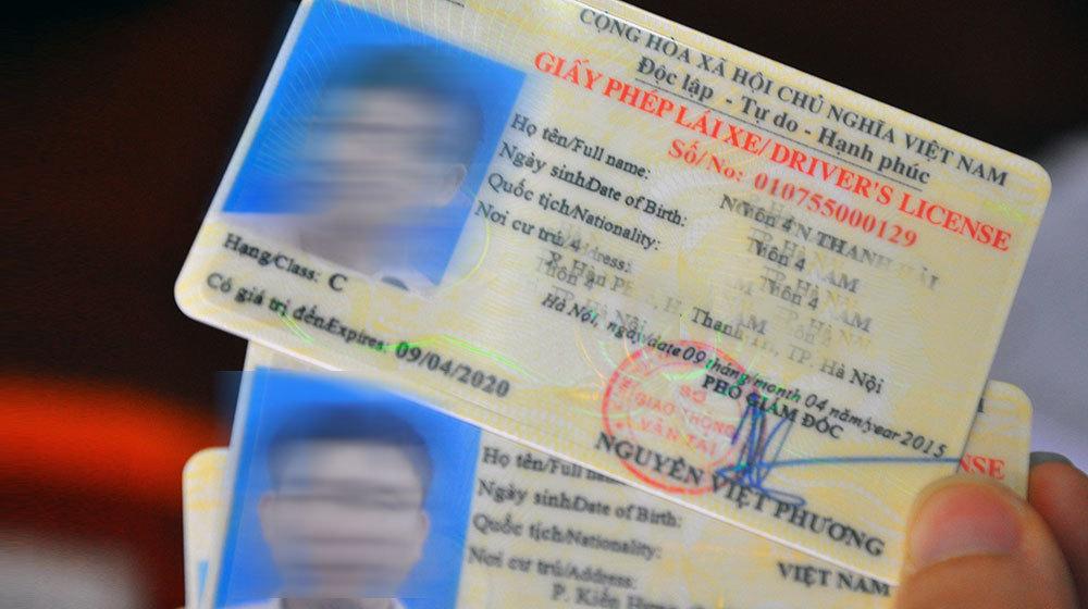 Ý nghĩa của giấy phép lái xe hạng A, B, C, D, E, F...