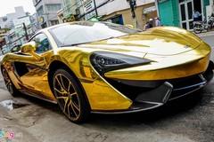 McLaren cũ của Cường Đô La mạ vàng phong cách Ả Rập