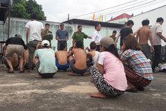 Học viên cai nghiện lại gây náo loạn, hơn 10 người bỏ trốn