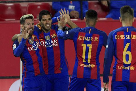 Sevilla 1-2 Barca