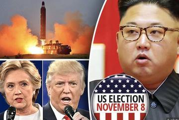 Nghi Triều Tiên phóng tên lửa ngày Mỹ bầu cử, Hàn báo động