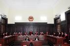 Ngày đầu thẩm phán TAND Tối cao mặc áo thụng