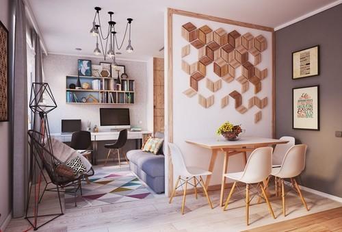 20161107165116 nha dep 2 Chả cần nhà to, căn hộ 40m² này đã đủ để đáp ứng mọi nhu cầu của một gia đình 3 người