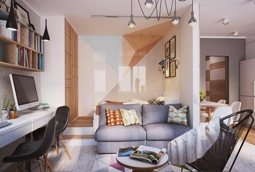 20161107165116 nha dep 3 Chả cần nhà to, căn hộ 40m² này đã đủ để đáp ứng mọi nhu cầu của một gia đình 3 người
