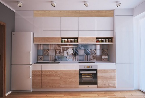 20161107165116 nha dep 7 Chả cần nhà to, căn hộ 40m² này đã đủ để đáp ứng mọi nhu cầu của một gia đình 3 người