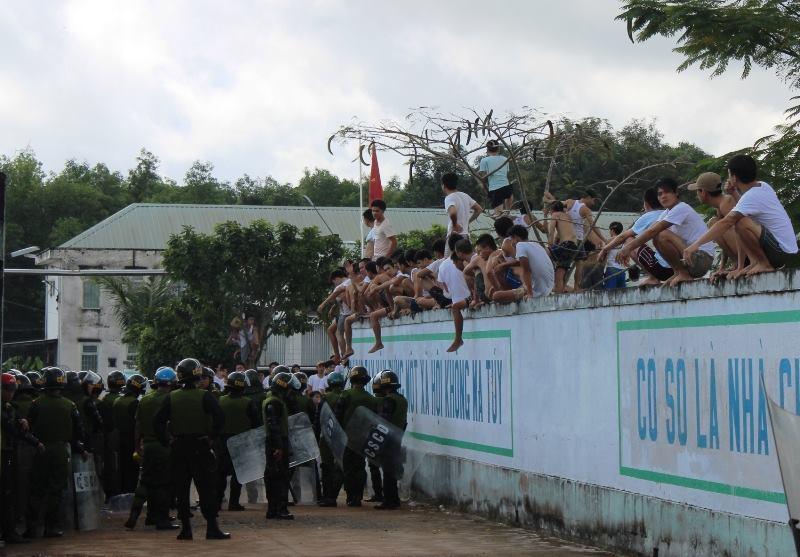 trốn trại, học viên trốn trại, Đồng Nai, bộ trưởng đào ngọc dung