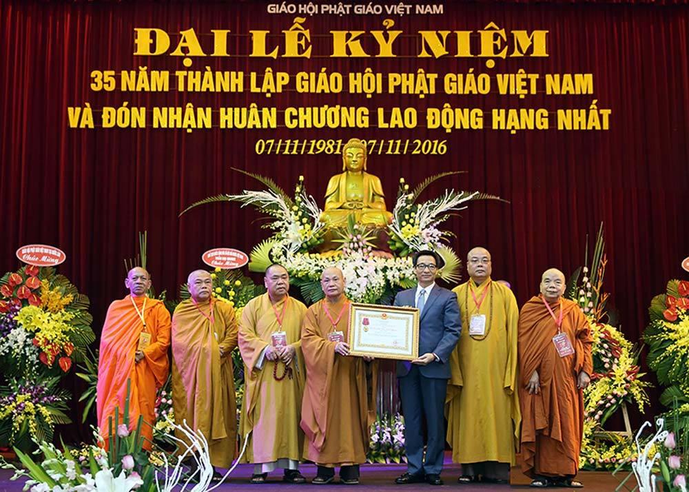 Phật giáo Việt Nam gắn bó, đồng hành với dân tộc