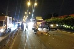 Xe tải tháo chạy khi cán chết nam sinh ở Sài Gòn