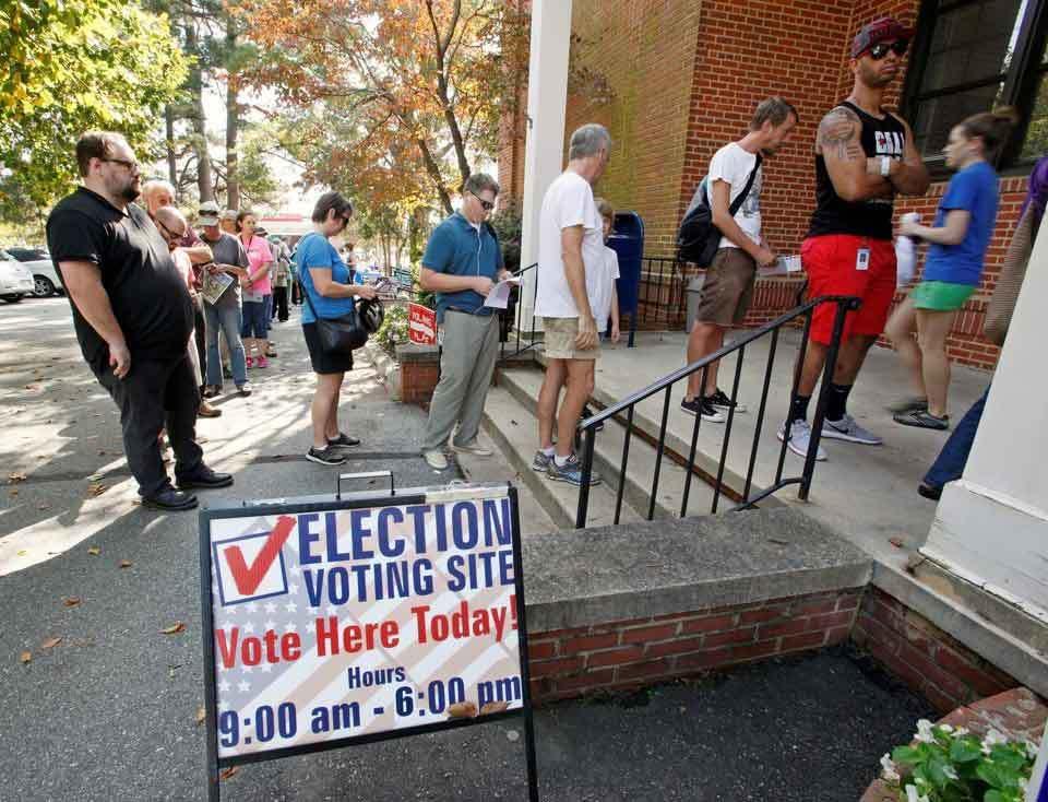 Hình ảnh nước Mỹ trước giờ bầu cử