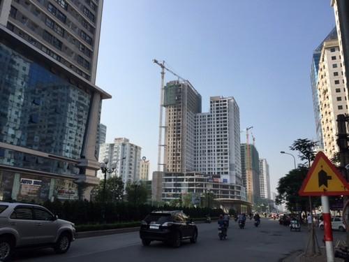 chung cư dọc đường Lê Văn Lương, chung cư cao tầng, các dự án trên đường Lê Văn Lương, tắc đường