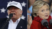 Hillary - Trump 'đấu đá' dữ dội phút chót