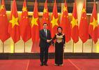 Chủ tịch QH chủ trì lễ đón Chủ tịch QH TQ