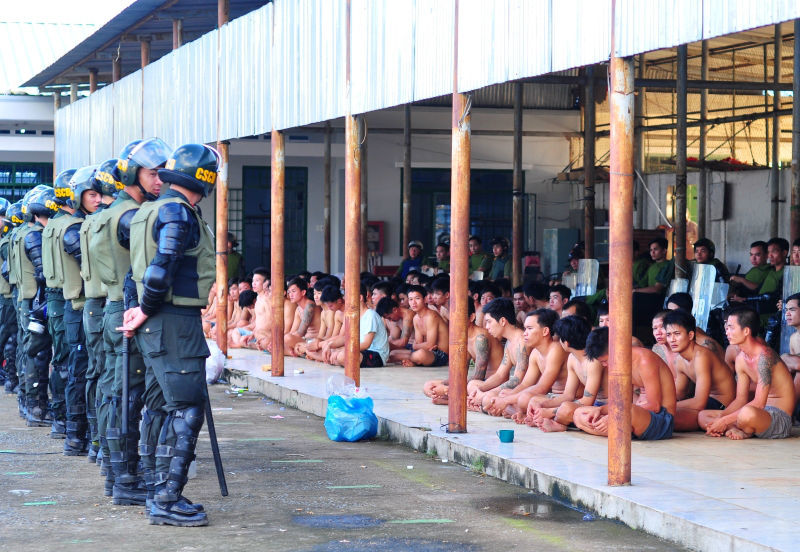 trại cai nghiện, học viên, trốn trại, Đồng Nai