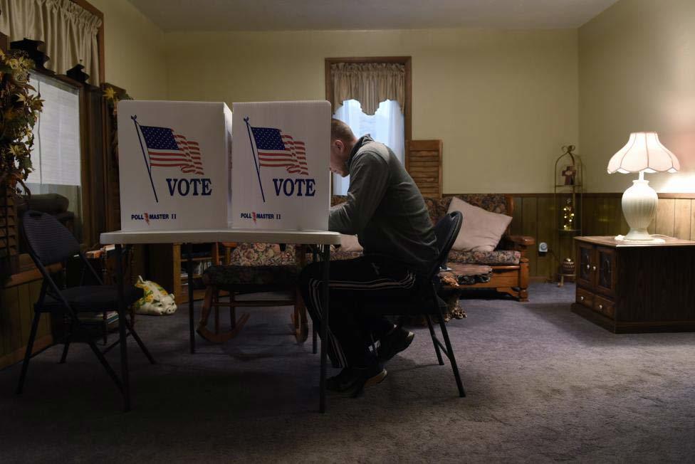 Những điểm bỏ phiếu 'chỉ có ở nước Mỹ'