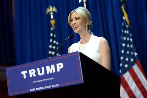 Con gái Tổng thống Donald Trump được dân mạng lùng sục