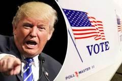 Trump tố gian lận, máy tự chuyển phiếu cho Hillary