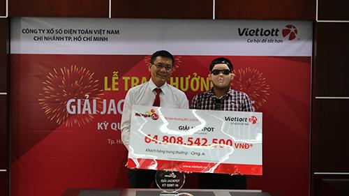 Người trúng số 65 tỷ ở Đồng Nai đã bí mật nhận thưởng - ảnh 1