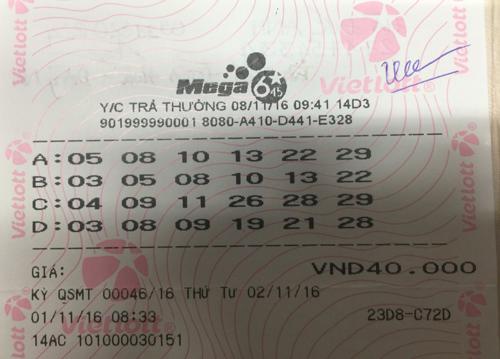 Người trúng số 65 tỷ ở Đồng Nai đã bí mật nhận thưởng - ảnh 2