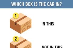 Câu đố tìm xe thách thức IQ người giải