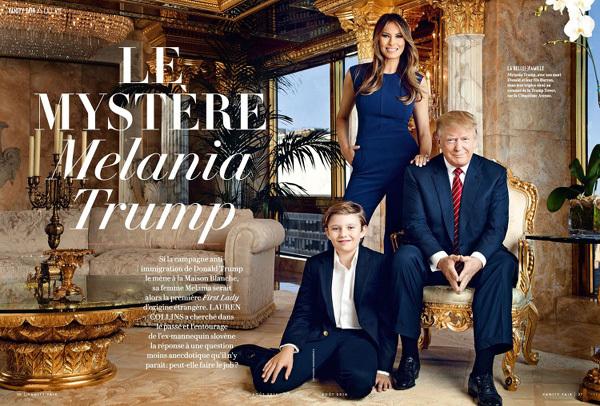 Thời trang đỉnh cao của đệ nhất phu nhân Melania Trump