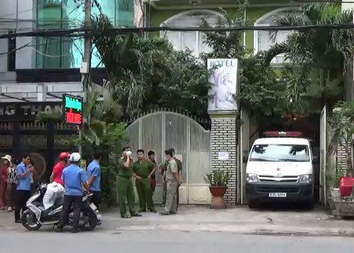 Người đàn ông chết bất thường trong khách sạn ở Sài Gòn