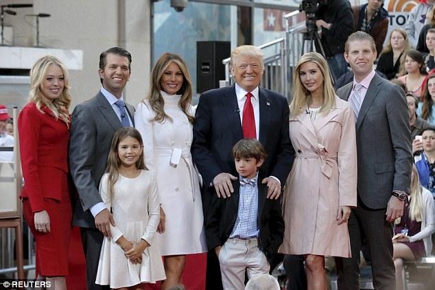 Con gái út cực sang chảnh của Donald Trump