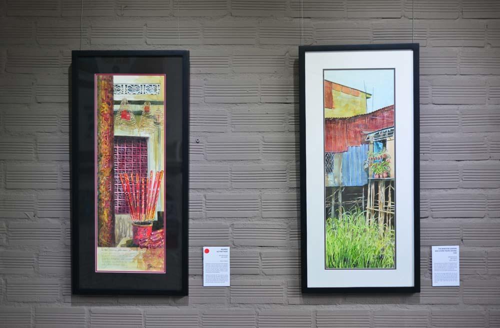 Vẻ đẹp nên thơ của ô cửa sổ Việt Nam qua tranh của họa sĩ Anh