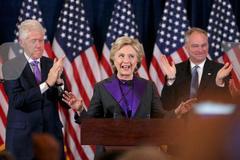 Vì sao Hillary mặc đồ tím lúc nhận thua?