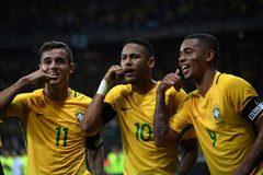 Video bàn thắng Brazil 3-0 Argentina