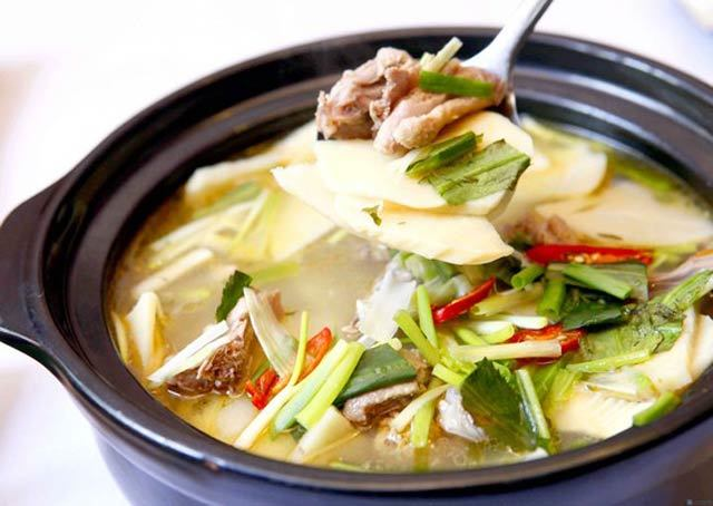 Image result for Canh chua thịt gà