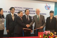 Bộ TT&TT ký thỏa thuận hợp tác kiểm soát vệ tinh với ITU