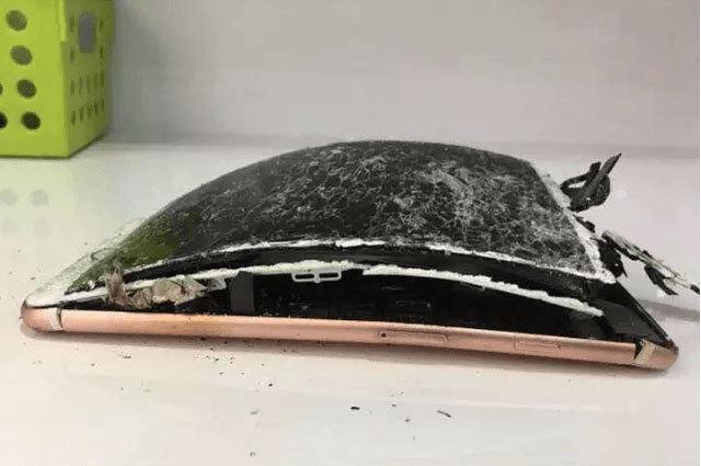 iPhone 7 Plus phát nổ, màn hình tan nát