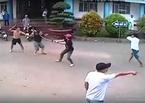 Hai nhóm đâm chém nhau như phim ở bệnh viện bị bắt