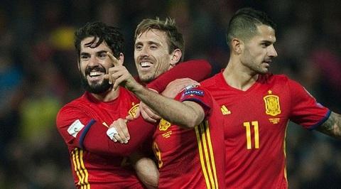 Video bàn thắng Tây Ban Nha 4-0 Macedonia