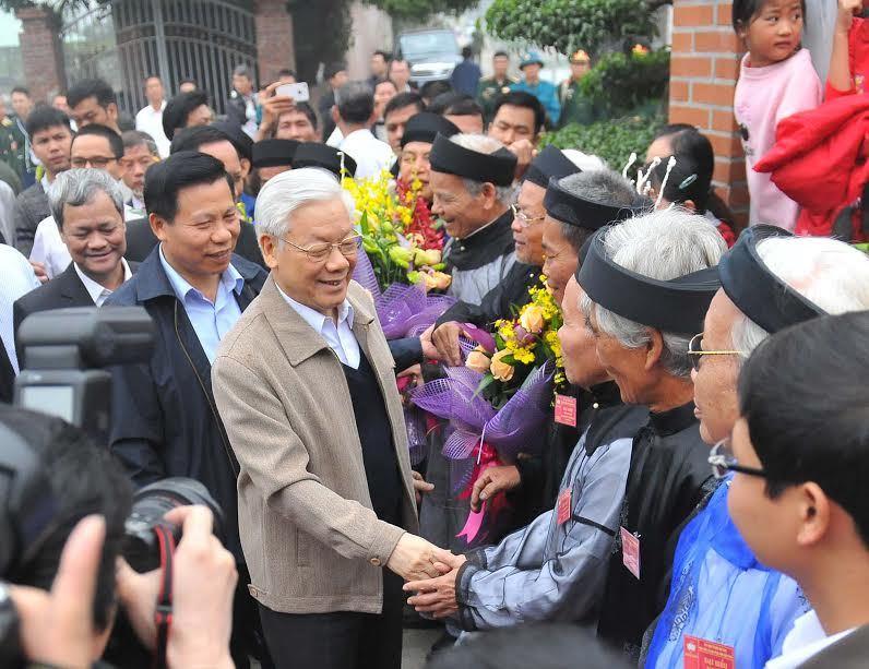 Tổng bí thư, Nguyễn Phú Trọng, ngày hội đại đoàn kết toàn dân tộc, Bắc Ninh, tham nhũng, chạy chức, chạy quyền
