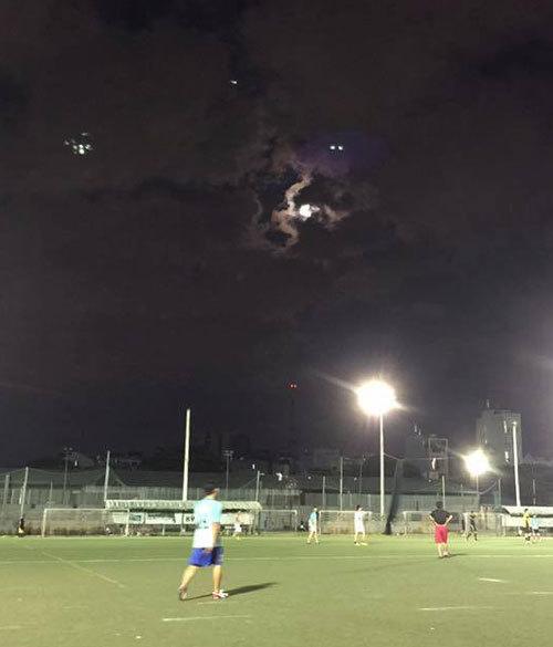 Xuất hiện vật thể bay lạ trên bầu trời Sài Gòn