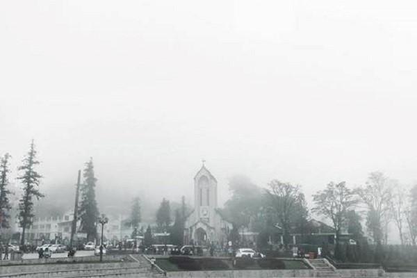 Hít hà hơi lạnh mùa đông ở Sa Pa