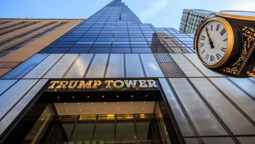 """""""Mục sở thị"""" tòa Tháp Trump đang nổi như cồn ở Mỹ"""