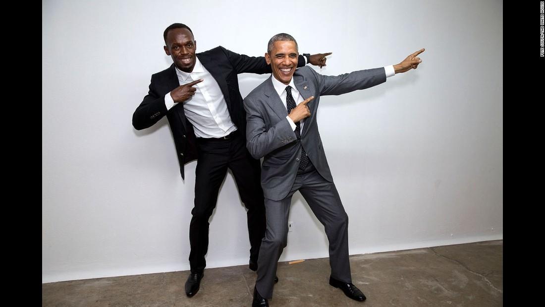 Liệu Trump có các bức ảnh đáng yêu này như Obama?