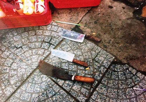 Hàng chục thanh niên truy sát, chém người ở trung tâm Sài Gòn