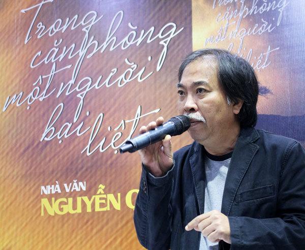 Nguyễn Quang Thiều, Trong căn phòng một người bại liệt