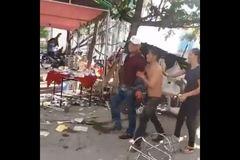 Hỗn chiến kinh hoàng ở đám tiệc, nhiều người bị thương