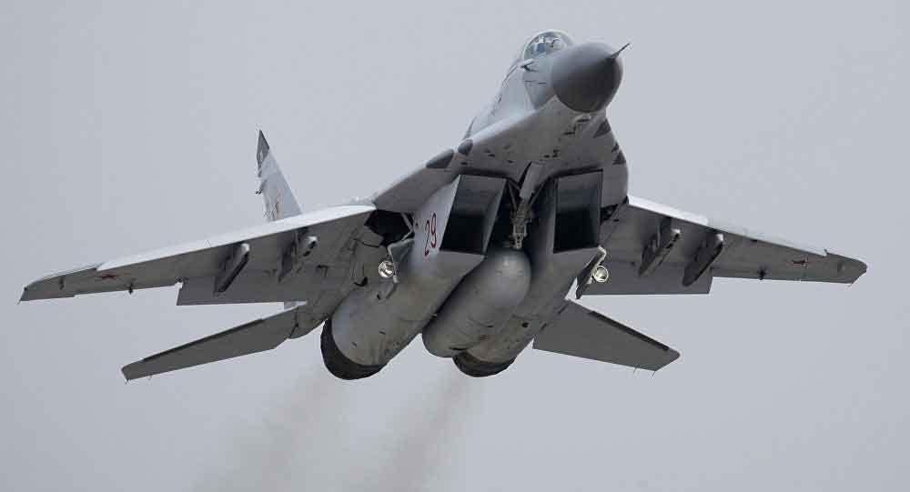 Chiến cơ Nga rơi ở Địa Trung Hải