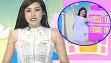 Á hậu Tú Anh trần tình sự cố vô tư múa trên sóng truyền hình